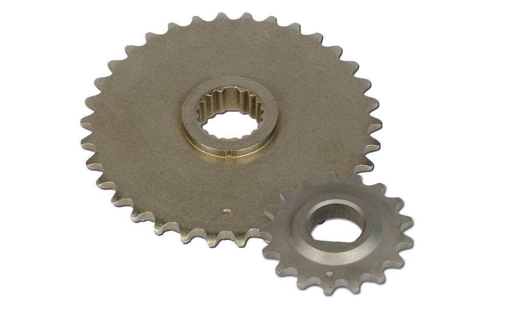 Engine Timing Crankshaft Sprocket-Stock Melling S581