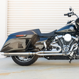 Milwaukee Eight Bagger 2 into 1 Exhaust