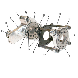 HP+ OIL PUMP PRESSURE HOUSING SET
