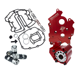 RACE SERIES OILING SYSTEM, OIL COOLED ENGINES