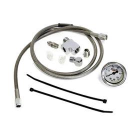 STAINLESS REMOTE OIL PSI GAUGE KIT