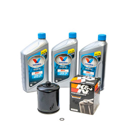 Engine oil change kit